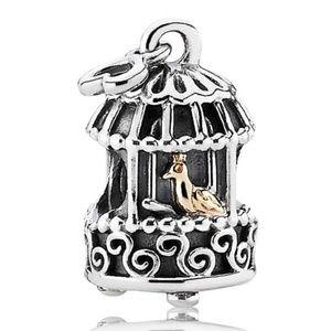 Pandora Nightingale Birdcage Charm